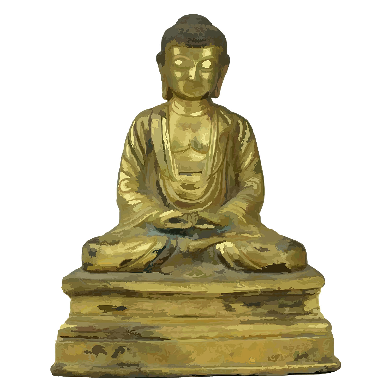 「古銅鍍金釈迦牟尼坐像」50,000円!